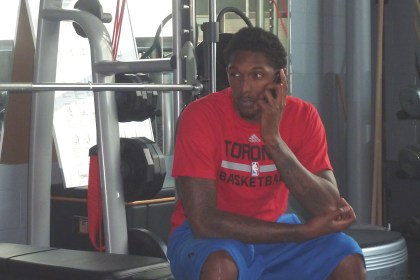 Lou Williams phone interview