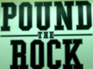 Pound the Rock