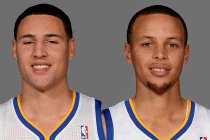 GSW Curry and Thompson