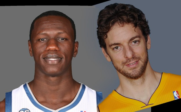 Pau Gasol and Dieng