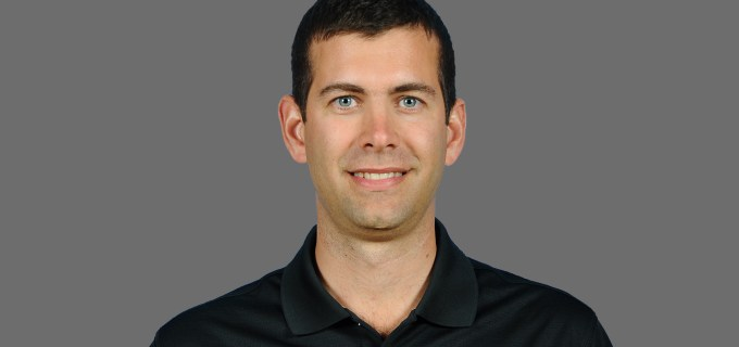 NBA Boston Celtics head coach Brad Stevens