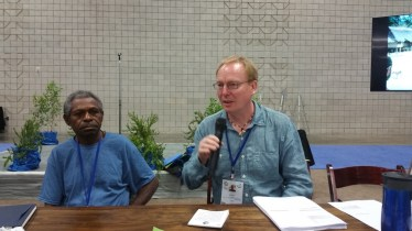 Porer & james at IUCN