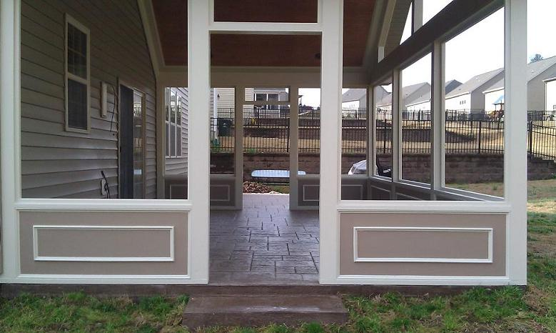What Is Eze Breeze Raleigh Screen Porch 3 Season Room Builder Pro_built_screen_porch_20 | Raleigh Screen Porch & 3