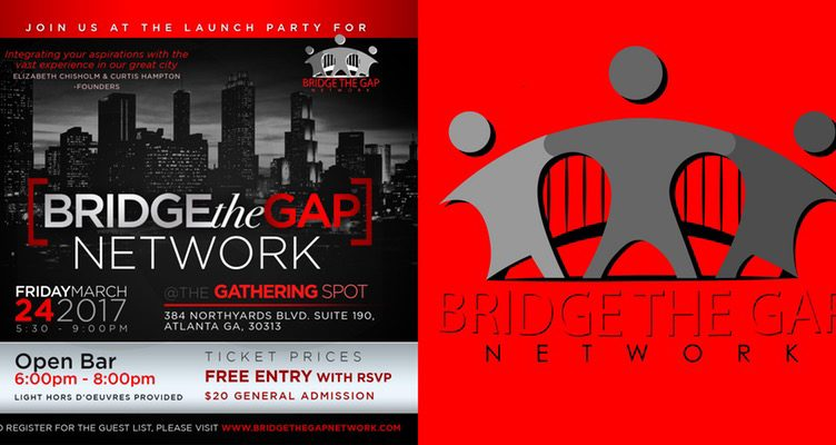 Bridge The Gap Network Launch Event - Pro Business Channel - networking flyers
