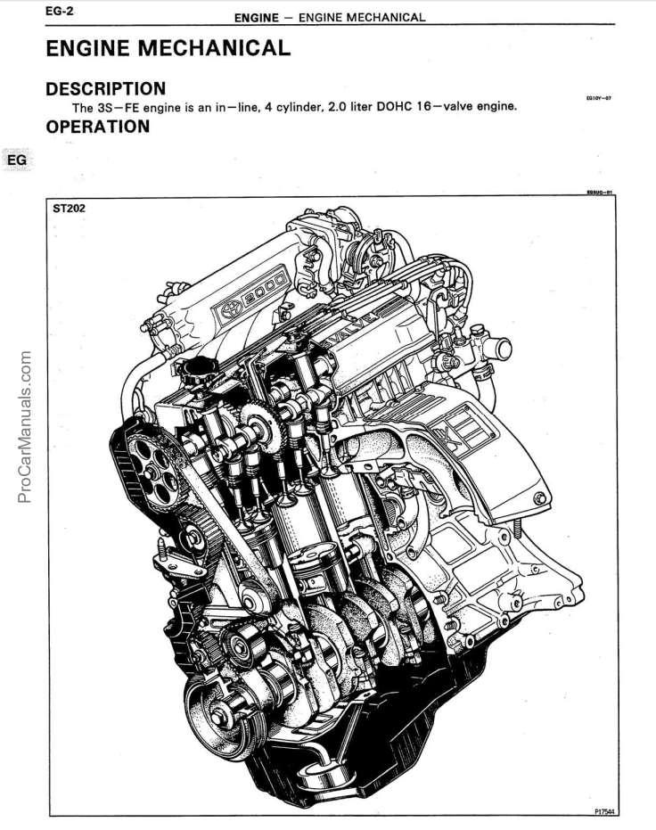 toyota 3s engine repair manual
