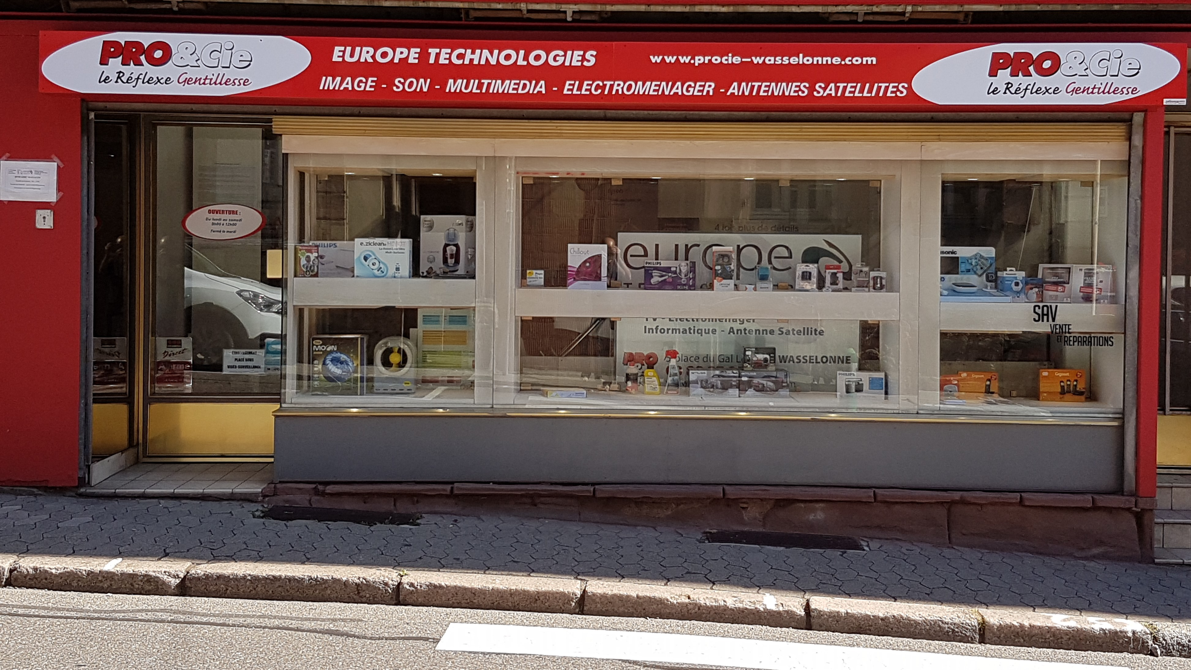 Electromenager Discount Bayonne Pro Cie Nos Magasins Pro Cie Sarl Europe Technologies 67310