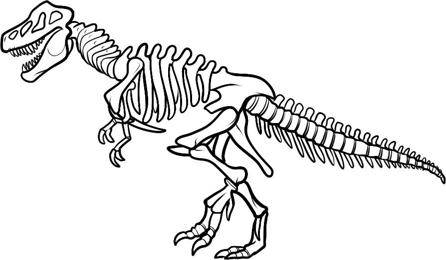 Dinosaur Coloring Pages for Kids - coloring dinosaur