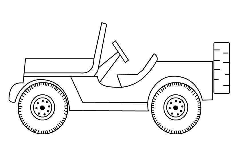 jeep coloring page eskayalitim