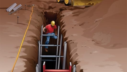 How To Paint Brick Reduce The Risk Of Trench Cave-ins | Constru-guía Al Día