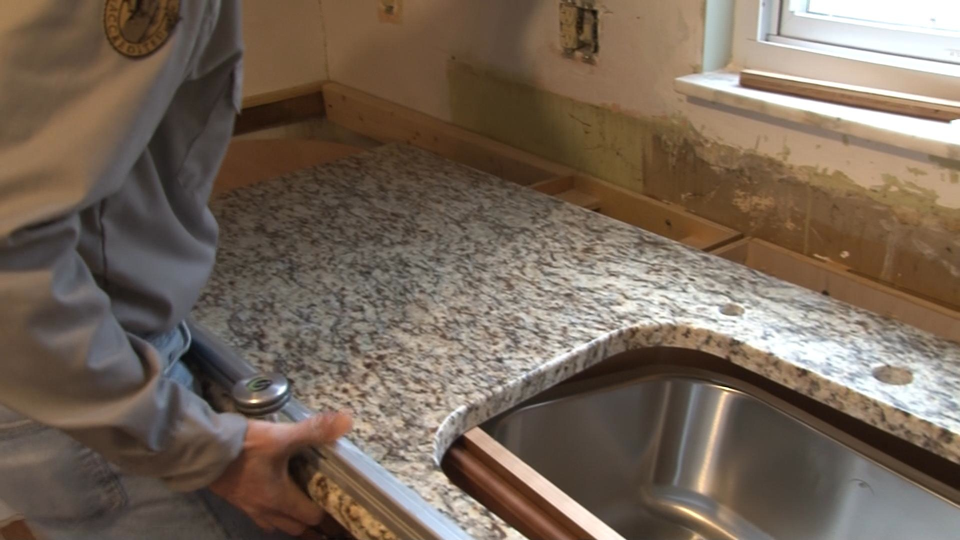 Granite Countertop Glue How To Install Granite Countertops Pro Construction Guide