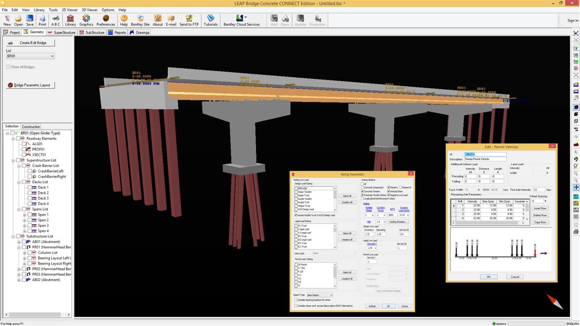 Precast Bridges Concrete Bridge Design Analysis Software Leap Bridge Concrete