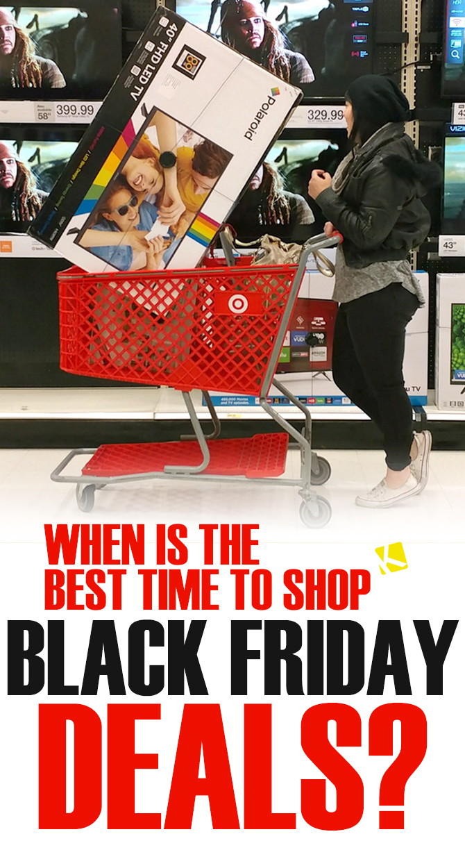 Black Frida When Is The Best Time To Shop Black Friday 2018 Deals The Krazy
