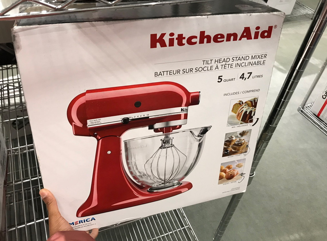 Kitchenaid Batteur Sur Socle Kitchenaid Stand Mixer Only 169 99 At Macy S Reg 359 99