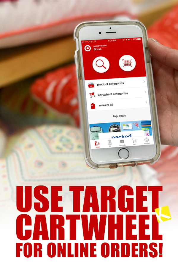 Finally \u2014 Target Lets You Use Cartwheel for Online Orders! - The