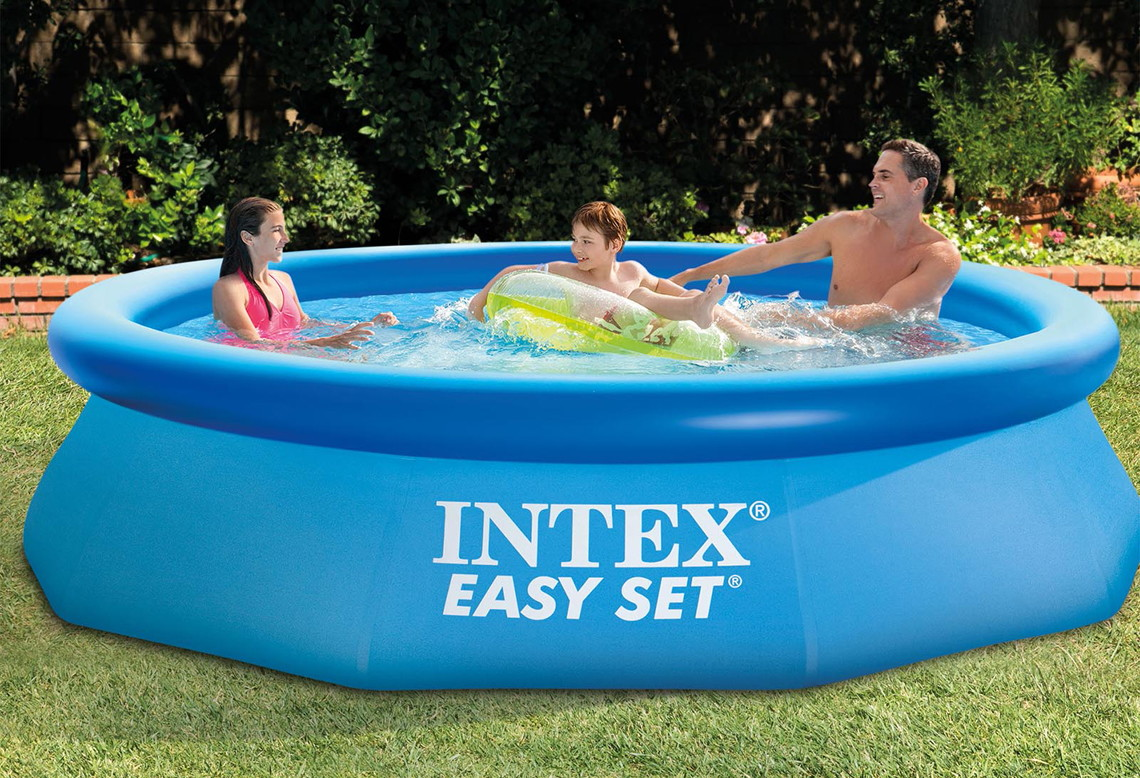 Aldi Intex Pool Intex 10 X 30 Easy Set Inflatable Pool 29 99 At Walmart The