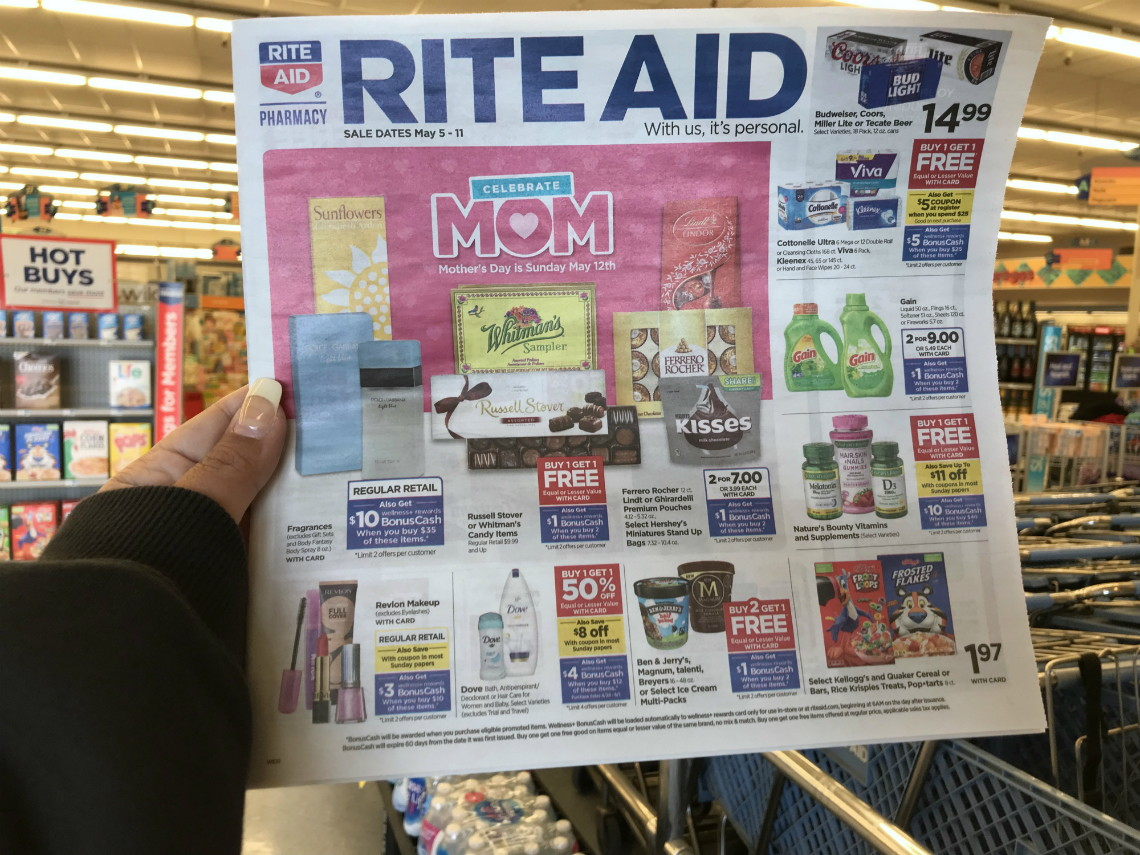 Office Depot Paris 16 Rite Aid Coupon Deals Week Of 5 5 The Krazy Coupon Lady