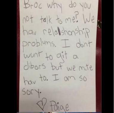 Funny And Honest Kids Breakup Letters To Make You Smile