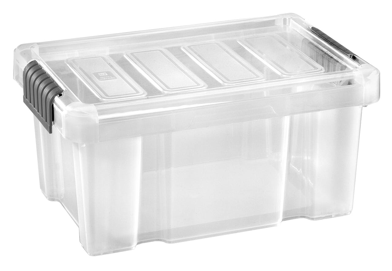 Tarrington House Clear Box Mit Deckel 14 L Transparent Metro Marktplatz