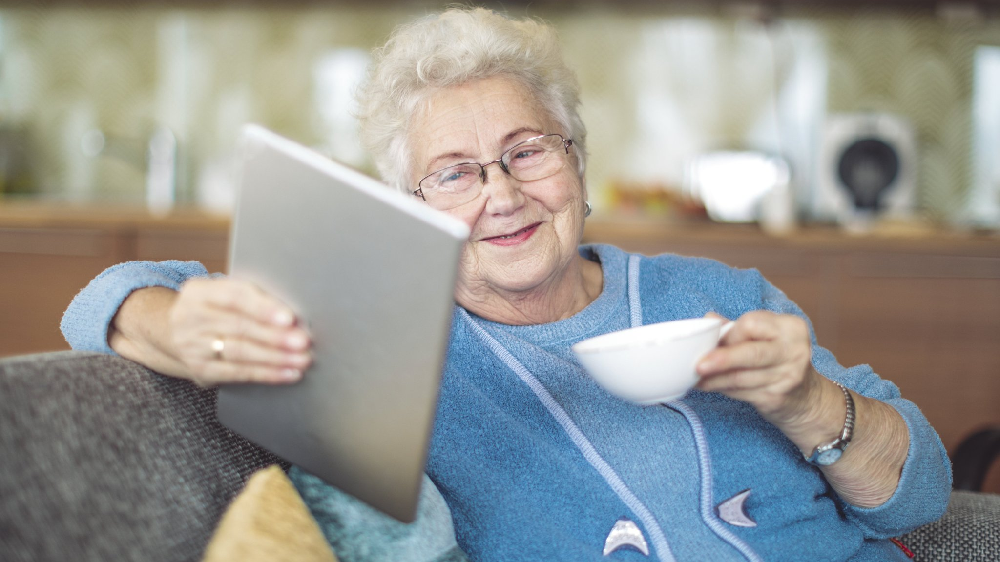 Senior Tech Here S Looking At You Gran The Rise Of Elder Tech Financial Times