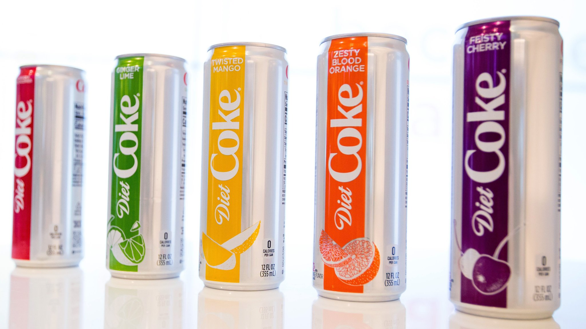 Diet Coke Diet Coke Revamp Adds Flavour To Coca Cola Results Financial Times