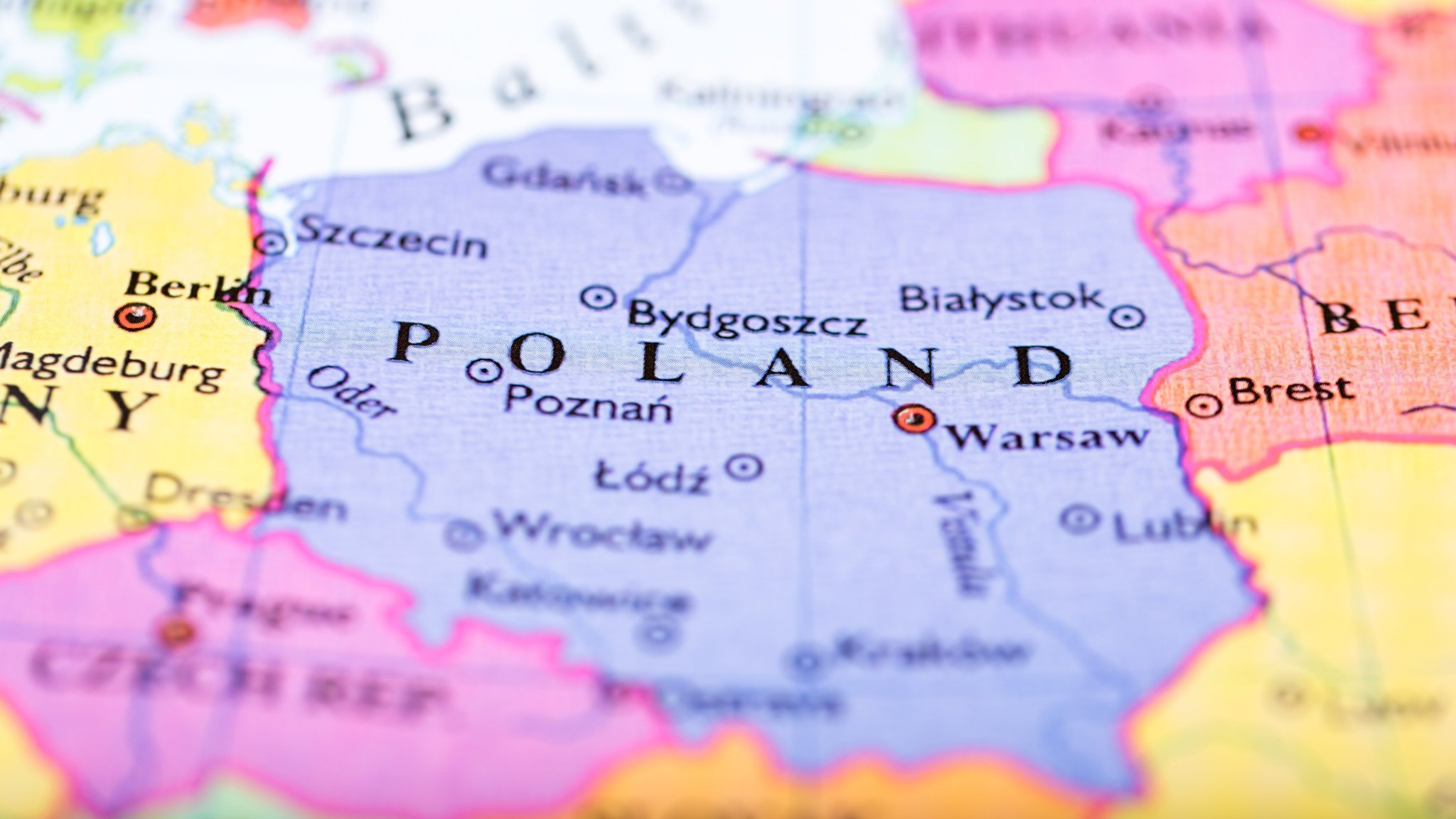 Iron Curtain Map Poland S State Railway Redraws Iron Curtain Financial Times