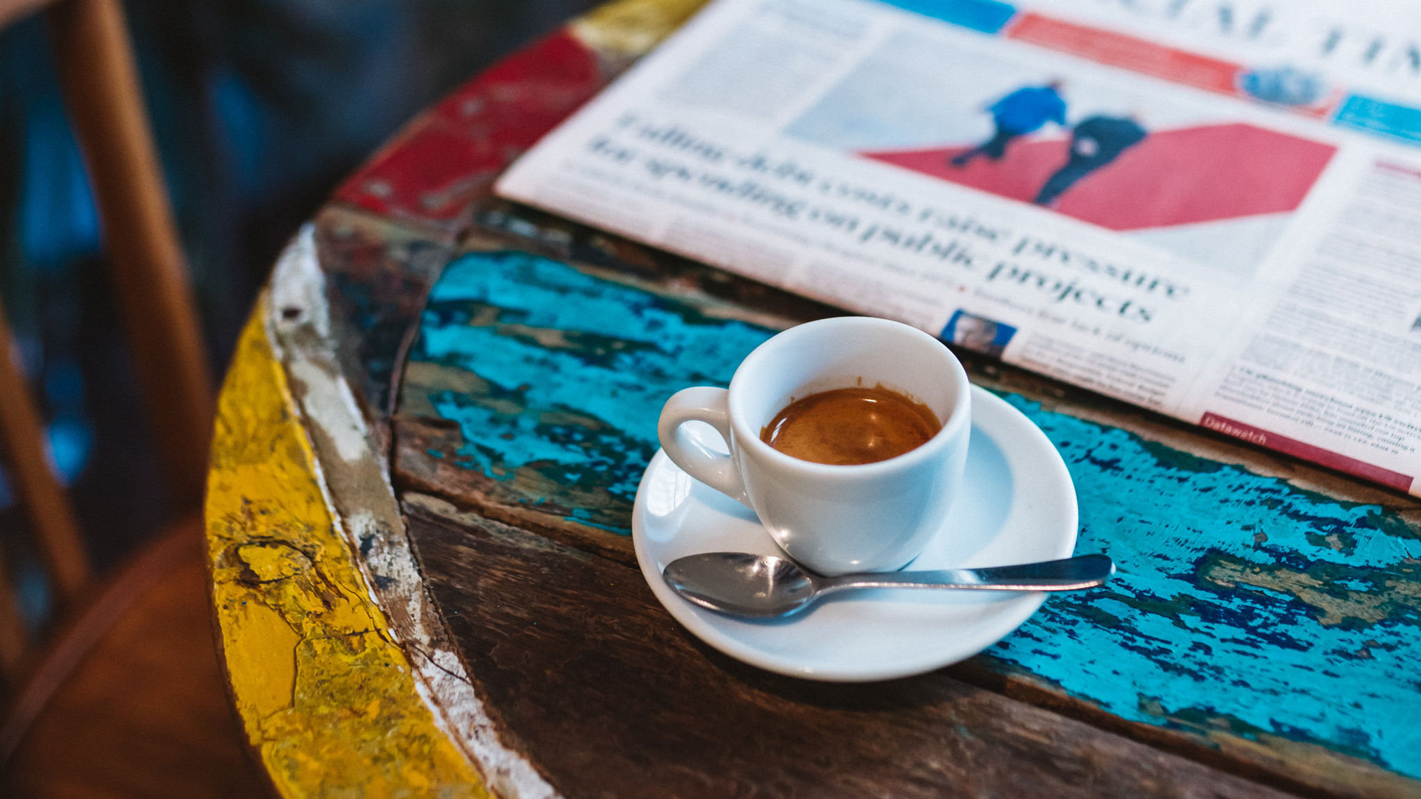 Simon Kuper In Paris Where To Find The Best Coffee Financial Times