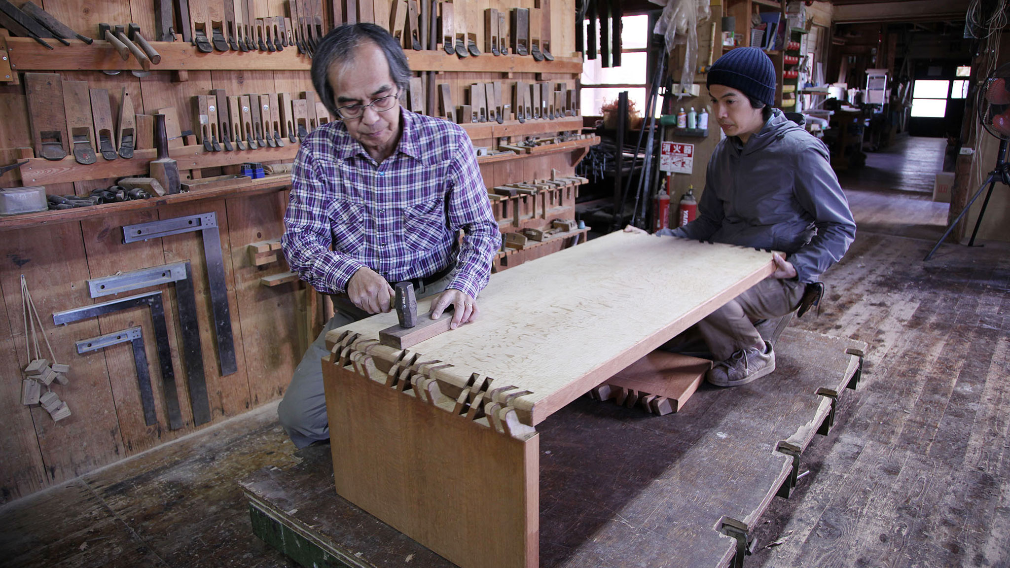 Japanese joiner whose handmade furniture has hidden connections | Financial Times