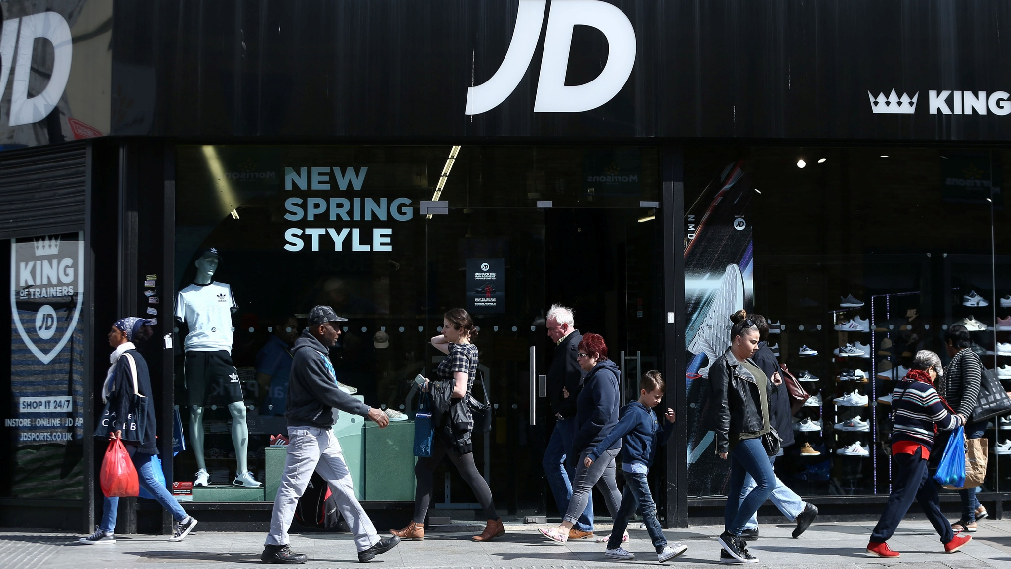 Jd Sports Jd Sports Commits To Bricks And Mortar As Profits Rise
