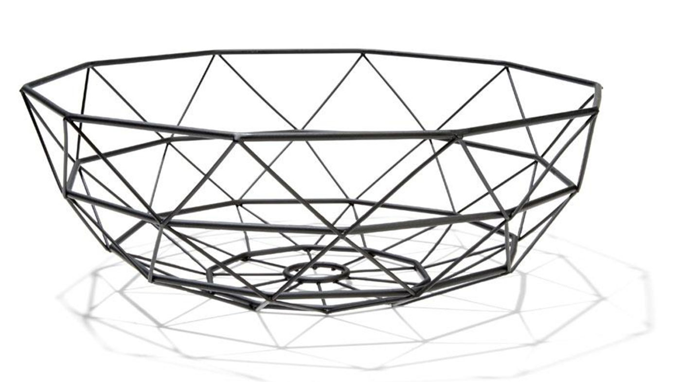 Wire Fruit Bowls This Kmart Fruit Bowl Is Being Used As A 6 Light Fixture