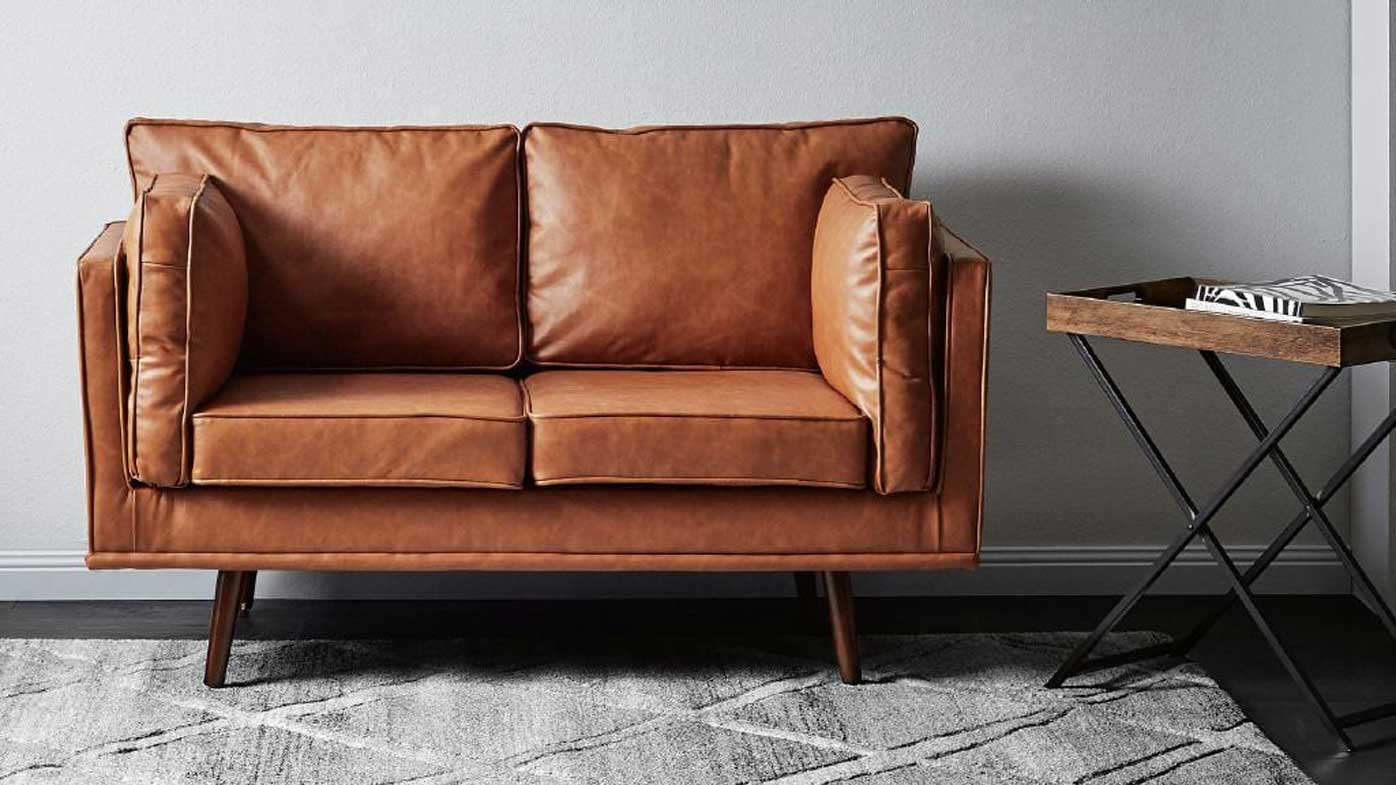 Barcelona Sofa Australia Aldi Release Their First Designer Look Couch In New Furniture