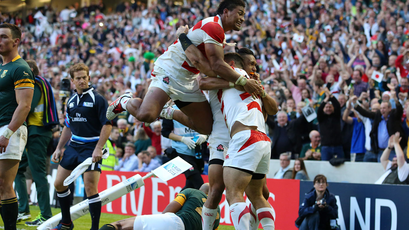 Rugby39s Greatest Upset To Be Turned Into Movie