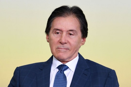 Brazilian Senate President Eunicio Oliveira attends the launching of the 2017/2020 Family Farming Harvest Plan, at the Planalto Palace in Brasilia, on May 31, 2017.<br /><br /> Brazil's Supreme Court on Tuesday ordered President Michel Temer to be questioned in writing, the latest development in an explosive corruption scandal that has him fighting for his political life. The embattled leader will have 24 hours to respond to questions from the federal police in a case involving Brazil's largest meat company JBS, a court statement said.<br /><br /> / AFP PHOTO / EVARISTO SA (Photo credit should read EVARISTO SA/AFP/Getty Images)