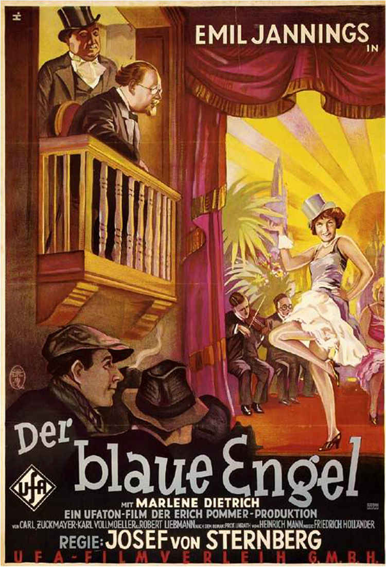Der Blaue Engel Josef Von Sternberg Cinema Arts Centre The Blue Angel Vic Skolnick Remembrance