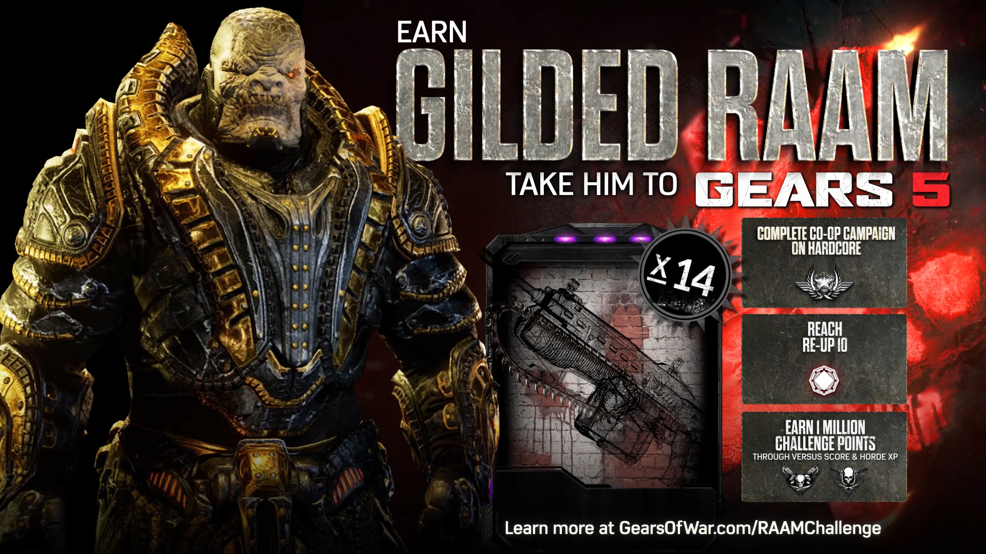 De Raam Of Het Raam Gears Of War 4 Gilded Raam Challenge Sitio Web Oficial De