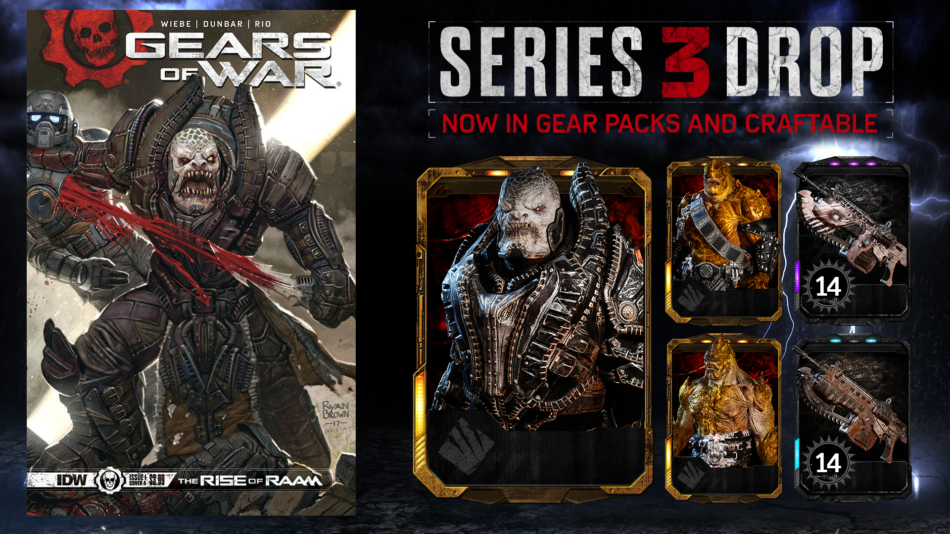 De Raam Of Het Raam Gears Of War 4 Rise Of Raam Out Now Community Gears Of War