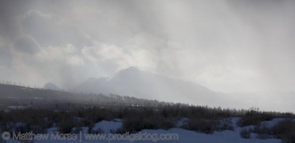 Yellowstone Winter Car