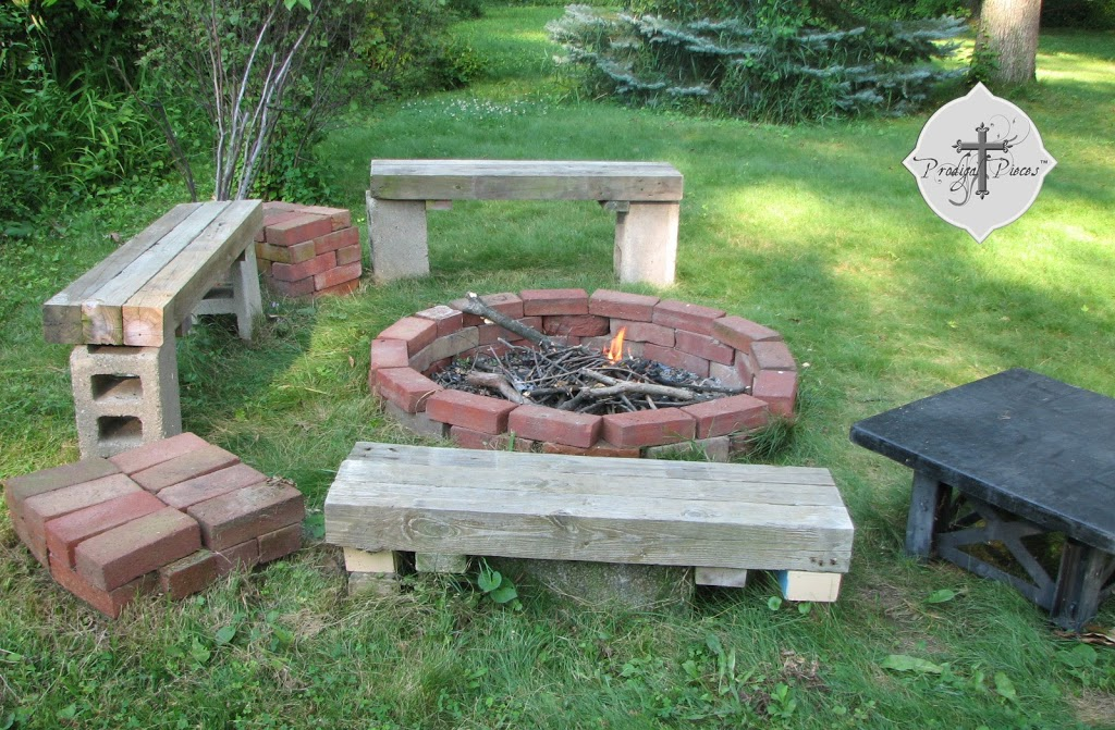 Budget Fire Pit From Reclaimed Brick Prodigal Pieces