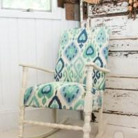 Vintage Rocking Chair Redo