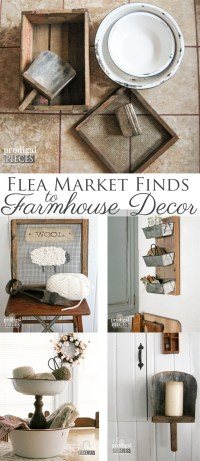 Farmhouse Decor from Repurposed Flea Market Finds ...