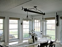 DIY Farmhouse Lighting ~ Kitchen Remodel Continues ...