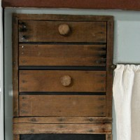 Faux Crate Drawers ~ Farmhouse Kitchen Update
