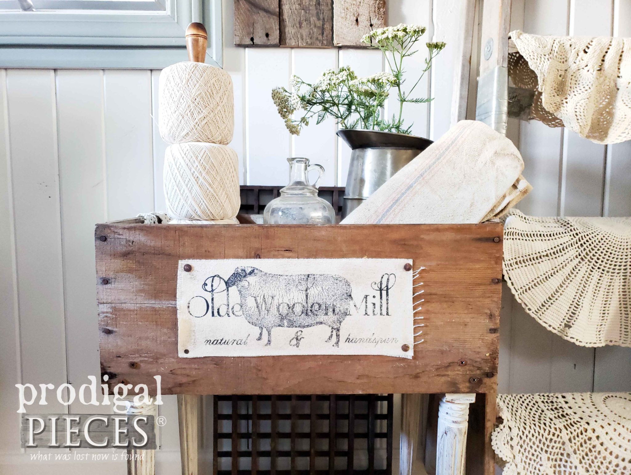 Upcycled Crates For Farmhouse Decor Prodigal Pieces