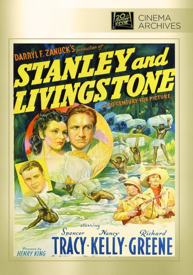 Stanley and Livingstone by Henry KingHenry King, Spencer Tracy