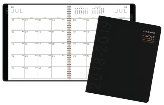 AT-A-GLANCE Contempo Monthly Academic Planner 38576405394 Item