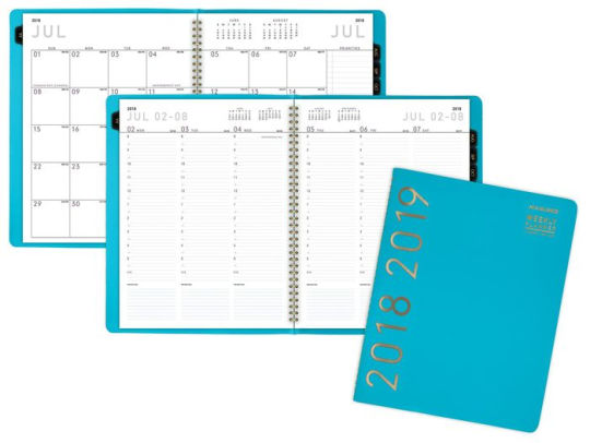 AT-A-GLANCE Contemporary Academic Weekly-Monthly Appointment Book