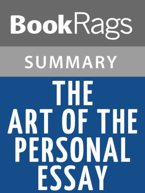 The Art of the Personal Essay by Phillip Lopate - AbeBooks