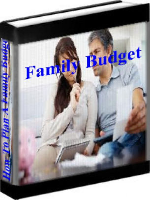 Family Budget - How To Plan A Family Budget by Suzie Ormann NOOK