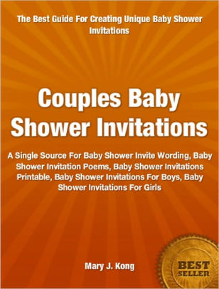 Couples Baby Shower Invitations A Single Source For Baby Shower