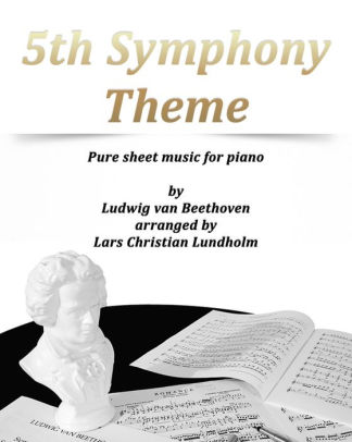 5th Symphony Theme Pure sheet music for piano by Ludwig van