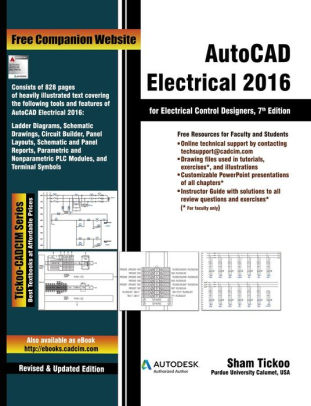 AutoCAD Electrical 2016 for Electrical Control Designers by Prof